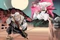 Picture anime, red, hitokiri, Soma Yukihira, redhead, tanto, cook, or both, oriental, ronin, sword, ken, asiatic, ...