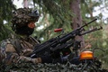 Picture weapons, soldiers, Latvian Army