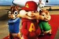 Picture cinema, film, animated film, Alvin and the Chipmunks, jet, movie, airport, animated movie