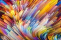Picture paint, colors, colorful, abstract, rainbow, background, splash, painting