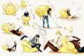 Picture anime, art, kids, characters, D.Gray-man