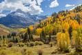 Picture nature, landscape, autumn, mountains