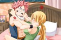 Picture Lucy, art, Fairy Tail, Natsu, anime, Fairy tail