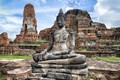 Picture ruins, Ayutthaya, Thailand, temple