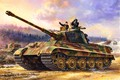 Picture Figure, Germany, Tank, Tiger II, Heavy, The third Reich, WWII, Tankers, Panzerwaffe, Pz.Kpfw.VI Ausf.B
