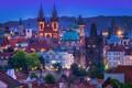 Picture building, home, roof, Prague, Czech Republic, tower, Prague, Czech Republic