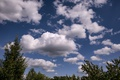 Picture white, blue, clouds, sky, cloud
