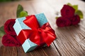 Picture red roses, heart, love, valentine`s day, roses, romantic, gift, red
