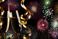 Picture colorful, night, fireworks, 2017, champagne, new year, salute, happy, holiday celebration, fireworks, New Year