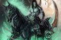 Picture Nephilim, Darksiders, death, undead, horse, blade, sickle, hell, sake, game, warrior
