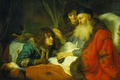 Picture picture, mythology, Isaac Blesses Jacob, Govert Flinck