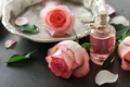 Picture perfume, petals, rose, pink, petals, pink roses, spa, oil