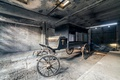 Picture garage, the hearse, wagon