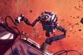 Picture space, robot, asteroids, service, Fix