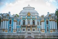 Picture blue, the building, architecture, Palace, Pushkin, Baroque