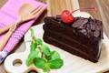 Picture cake, mint, chocolate, cream chocolate