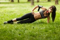 Picture park, workout, fitness, abs