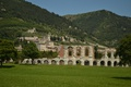 Picture Mountains, Italy, Building, Italia, The city, Home, Gubbio, Gubbio, Ruins, Mountains, Ruins, Town, Italy