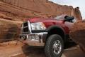 Picture pickup, Ram, rocks, SUV, Dodge