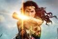 Picture cinema, film, armor, Diana, Themyscira, brunette, eagle, sword, gauntlet, movie, Wonder Woman, DC Comics, Gal ...