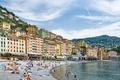 Picture beach, Camogli, Liguria, home, Italy, sea