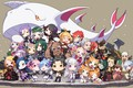 Picture anime, art, kit, kids, Chibi, characters, Re: Zero kara hajime chip isek or Seikatsu, From ...