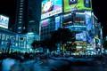Picture night, the city, lights, street, building, skyscrapers, excerpt, Japan, Tokyo, crossroads, Tokyo, Japan, Shibuya, stores, ...