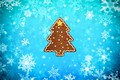 Picture Background, Holiday, Snow, Tree, Minimalism, Cookie, New year, Winter, Christmas, Tree, Snowflakes