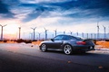 Picture road, the sun, light, desert, Porsche, photographer, drives, Larry Chen, 996 Turbo