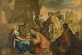 Picture Joris van Schooten, mythology, oil, The Adoration Of The Magi, canvas, picture