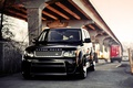 Picture parking, Trucko, road, Land Rover, black, street