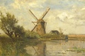 Picture landscape, Mill at the Pond, Paul Joseph Constantine Gabriel, picture