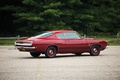Picture Plymouth Barracuda, red, muscle car, Fastback, Formula S