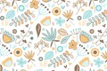 Picture background, texture, pattern, vector, flowers