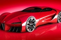 Picture Supercar, Alfa Romeo, Project, Alfa 6C, Supercar, Sports car, Concept