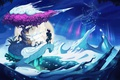Picture snow, Yooka-Laylee, blizzard, game