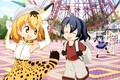 Picture giant, anime, happy, girl, oriental, cute, bishojo, kawaii, japanese, asiatic, moe, Kemono Friends, manga, asian, ...