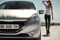 Picture the sky, girl, Auto, glasses, Peugeot