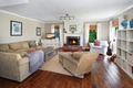 Picture sofa, furniture, interior, pillow, pictures, fireplace, cottage, Design, living room, room, Interior, Living