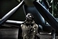 Picture the plane, people, glasses, gloves, pilot, propeller, aircraft, man, pilot, gloves, goggles, headset, propeller
