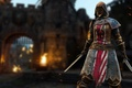 Picture armor, Peacekeeper, ken, sword, pearls, woman, blade, For Honor, game