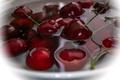 Picture cherry, water, cherry, berries