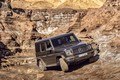 Picture movement, Mercedes-Benz, SUV, brown, breed, 2018, G-Class, quarry