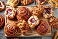 Picture bun, sweet, cakes, buns, sweet, baking, delicious