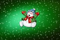 Picture Background, Mood, Holiday, Christmas, Minimalism, Winter, New year, Snowman, Snow