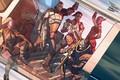 Picture Mass Effect, drawing, Garrus Vakarian, Ashley Williams, Commander Shepard, Liara T Soni, Tali'Zorah, Urdnot Wrex