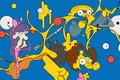 Picture The simpsons, Figure, Simpsons, Art, Chemistry, Cartoon, The Simpsons, 20th Century Fox, Character, Todd, The ...
