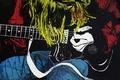 Picture hair, kurt cobain, musician, guitar, art, guitarist, style