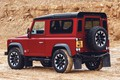 Picture stones, SUV, quarry, jubilee spezzare, slice, Defender Works V8, breed, 2018, Land Rover, red
