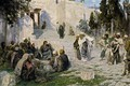 Picture Christ and the Sinner, picture, Vasily Polenov, mythology